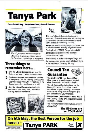 Tanya's Leaflet